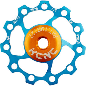 KCNC Jockey Wheel cuscinetti SS 11 denti, blue